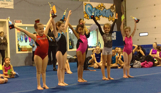 G.A.P Gymnasts Take On First Meet of the Season