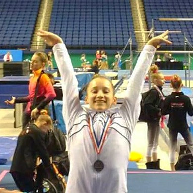 NS Athlete Earns Privilege to Compete as an Elite Gymnast