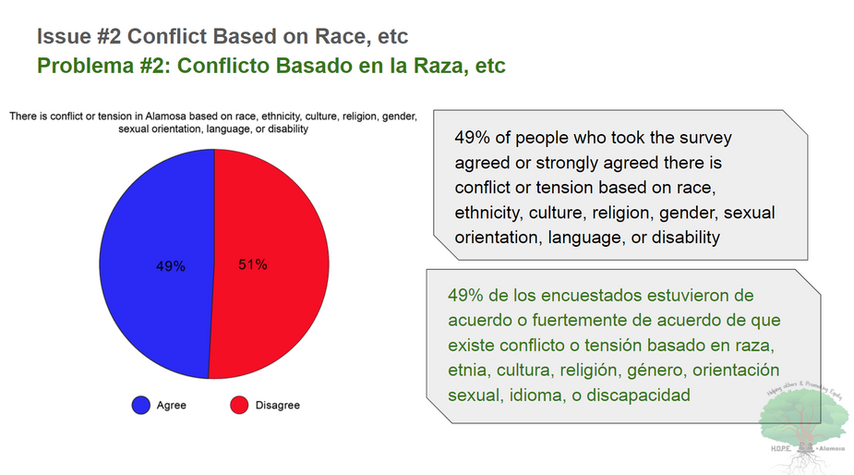 2020 HOPE SURVEY-CONFLICT BASED ON RACE2