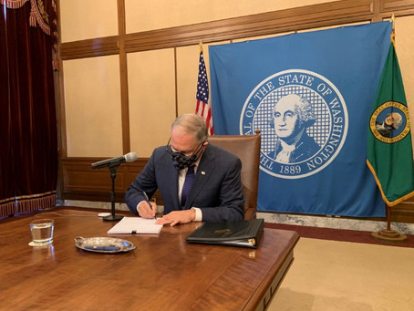 Inslee signs bipartisan bill to support business and workers