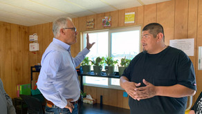 Gov. Inslee tours REC, discusses with city leaders about the rising housing and homeless concernns