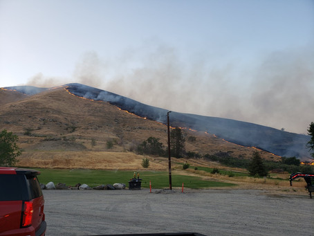 Chelan County Emergency Management places Level 3 and 2 evacuations north of Monitor