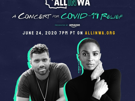 Don't miss the All in WA: A concert for COVID-19 Relief Wednesday