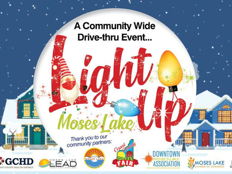 Experience Christmas lights safely, Light up Moses Lake scheduled for December 4th