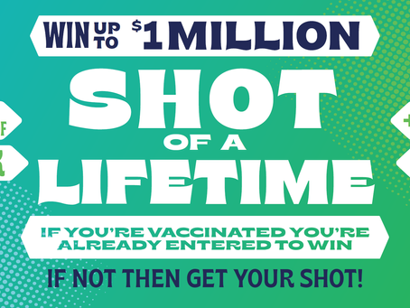 """Gov. Inslee announces """"Shot of a Lifetime"""" prizes for those who've been vaccinated"""