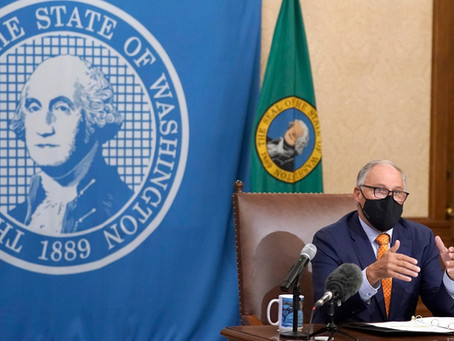 Gov. Jay Inslee announces new statewide restrictions to help curb the spread of COVID-19