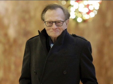 Larry King, renowned radio and TV broadcast journalist has passed away at the age of 87
