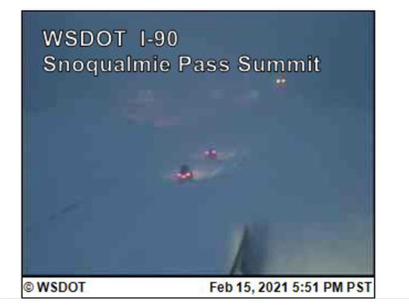 Avalanche danger forces I-90 Freeway to close overnight on Snoqualmie Pass