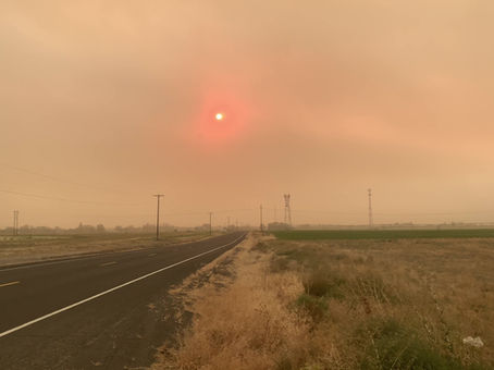 Many freeways in Central Washington closed due to high winds, low visibility and smoke