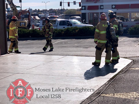 Natural Gas Pipe Break in Dwnt ML Affected the Evening Commute and Local Businesses