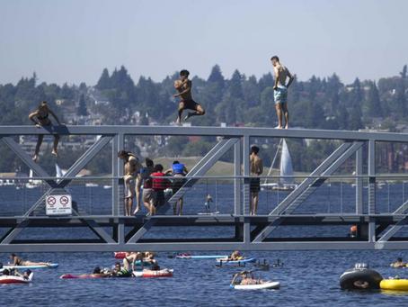 Heat dome sets all time records across Washington and Oregon Monday