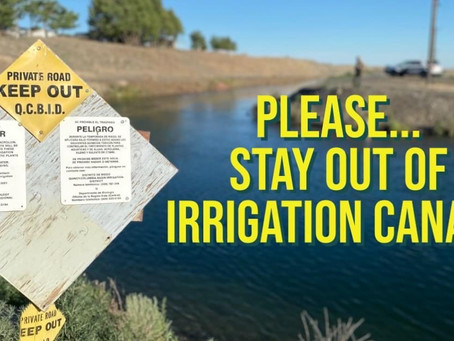10 year old Issaquah girl has drowned in irrigation pond in George. 2nd irrig. accident this week