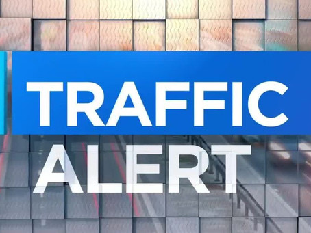 TRAFFIC ALERT: ML NORTH PATTON BLVD CLOSED FOR THE NEXT 2 HRS DUE TO A COLLISION