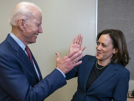 'We did it' | Vice President-elect Harris shares video of her congratulating Biden