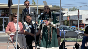 VIDEO: New banners unveiled at Sinkiuse Square in honor of Chief Moses in downtown M.L.