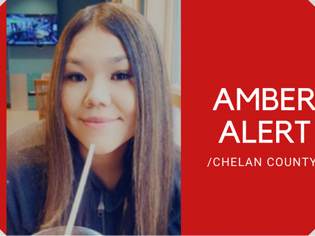 AMBER ALERT: 14-Year-Old Chelan County Girl possibly heading to Spokane