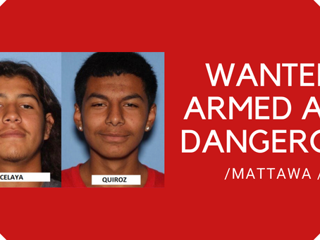 GCSO looking for Mattawa targeted drive-by shooting suspects who at large and armed and dangerous