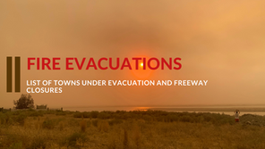 Evacuation lists and freeway closures for September 7th, 2020 (INTERACTIVE MAP)