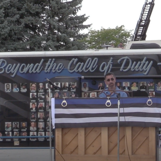 """Local pianist played to honor fallen officers nationwide at """"Beyond the call of duty"""" ceremony"""