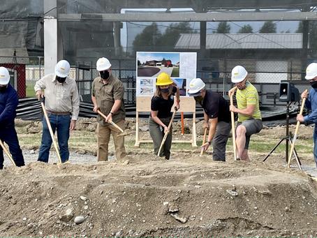 VIDEO: Groundbreaking ceremony kicks off construction for Moses Lake's new Larson Recreation Center
