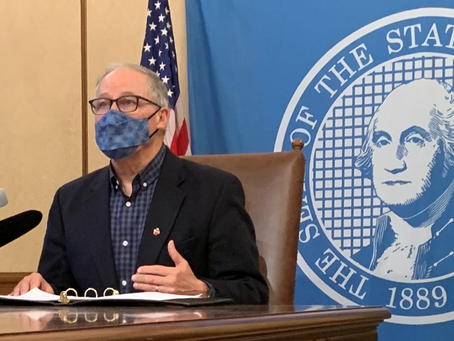 Gov. Inslee announces extension of moritorium and loosening long term care visitations and more