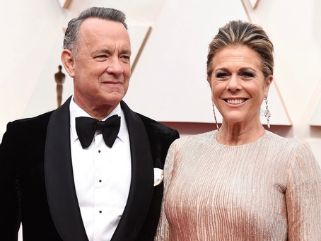 Actor Tom Hanks and wife Rita Wilson have tested positive for the COVID-19 Coronavirus