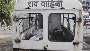 Indian hospitals plead for oxygen, country sets virus record