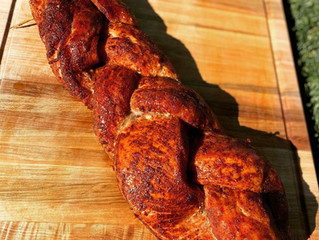 Smoked Braided Pork Loin