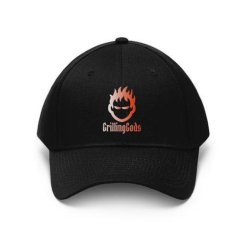 Unisex embroidered Grilling Gods Hat