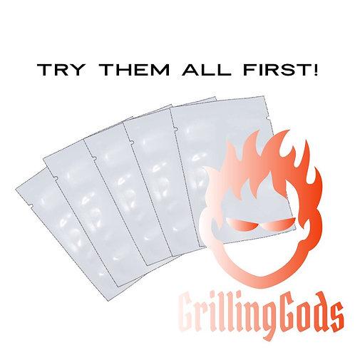 Grilling Gods Sample Pack