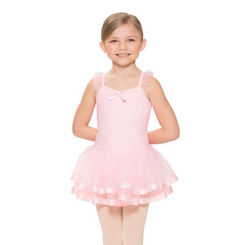 Girl's Flutter Sleeve Dress