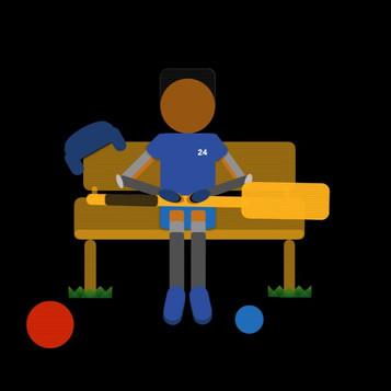Blue Frynell Sitting (2016)