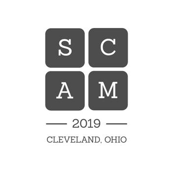 SCAM 2019 Logo