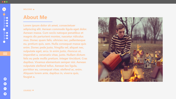 Bio Website B - About Me (2019)