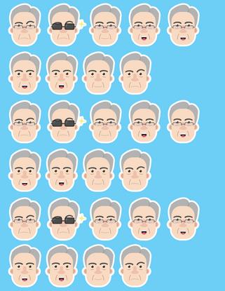 Powell Sticker Sheet (2019)