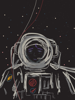 Astronaut Black (2018)