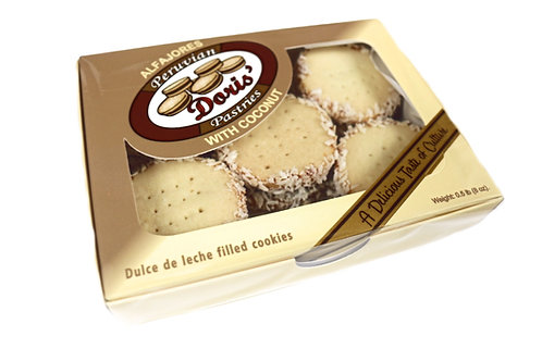 Coconut Alfajores (10/box)