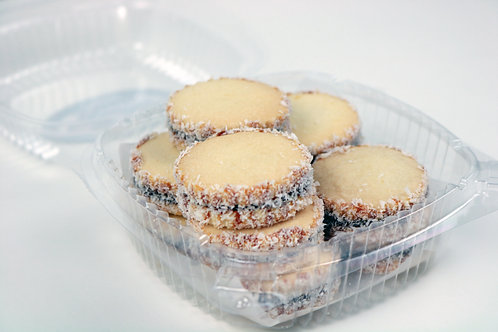 Coconut Alfajores (10/box)