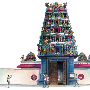 Let's Explore Sri Mariamman Temple!
