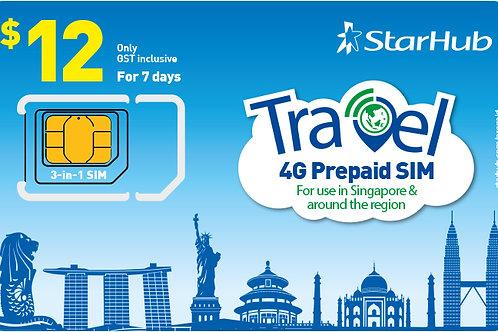 Traveller SIM (100GB local data for 7 days) worth $12