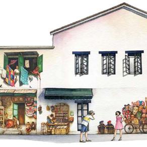 Let's Explore Mural at Mohamed Ali Lane