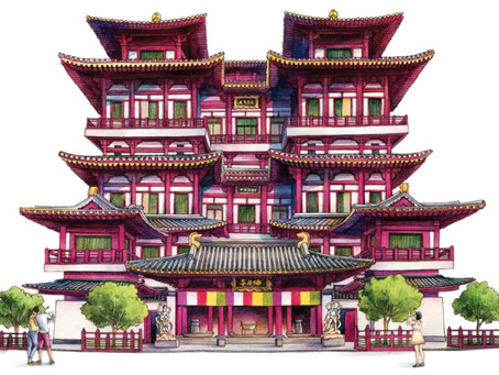 Let's Explore Buddha Tooth Relic Temple & Museum!