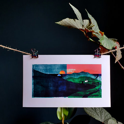 Dowally Giclée Print - Small