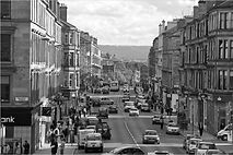 Byres Road - we are situated in the heart of the West End