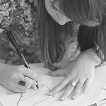 Marion Fresneau qui dessine