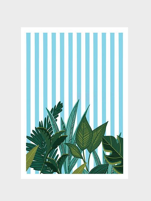 SUMMER PLANTS BLUE