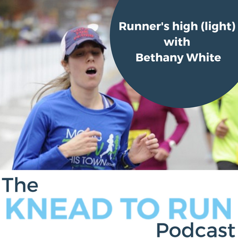 E19: [Runner's high (light) series] Running and Anxiety Part 1 with Bethany White