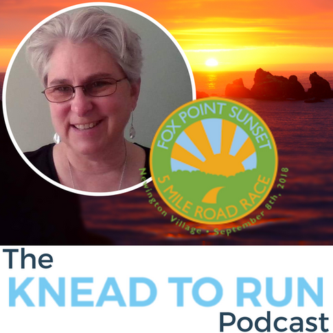 E16: Interview with Gail Klanchesser, co-director of the Fox Point Sunset 5 Mile Road Race