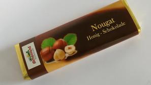 Nougat Honig-Schokolade