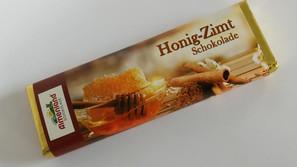 Honig-Zimt Schokolade